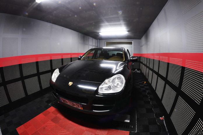 Diagnostic moteur Porsche Cayenne V6