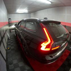 puissance sur le nouveau Volvo V90